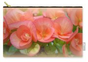 Dreamy Begonias Carry-all Pouch