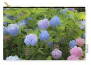 Dreamy Blue And Pink Hydrangeas Carry-all Pouch