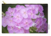 Dreamy Lavender Phlox Squared Carry-all Pouch