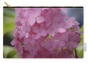 Dreamy Pink Mophead Hydrangea Squared Carry-all Pouch