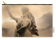 Dreamy Surreal Guardian Angels Ascent To Heaven Carry-all Pouch