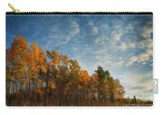 Dressed In Autumn Colors Carry-all Pouch by Priska Wettstein