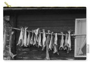 Dried Cod On A Line Carry-all Pouch by Heiko Koehrer-Wagner