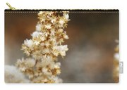 Dried Flower And Crystals Carry-all Pouch