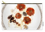 Dried Flower Art Carry-all Pouch