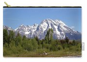 Driftwood And The Grand Tetons Carry-all Pouch