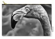Dripping Flamingo - Bw Carry-all Pouch