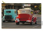 Driving Off Into History Carry-all Pouch