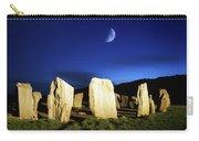 Drombeg, County Cork, Ireland Moon Over Carry-all Pouch