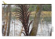 Dry Fern Stem In November Carry-all Pouch