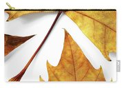 Dry Leafs Carry-all Pouch by Carlos Caetano