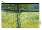 Dry Stone Wall And Lone Tree Carry-all Pouch