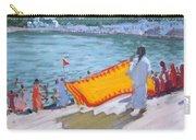 Drying Sari Pushkar  Carry-all Pouch