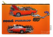 Dual Roadrunner Abstract Carry-all Pouch