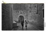 Dubrovnik In The Rain Carry-all Pouch