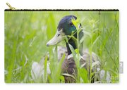 Duck In The Green Grass Carry-all Pouch