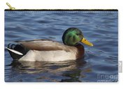 Duck On The Water Carry-all Pouch