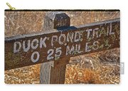 Duck Pond Trail Carry-all Pouch