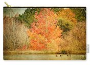 Ducks In An Autumn Pond Carry-all Pouch