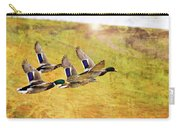 Ducks In Flight V4 Carry-all Pouch