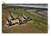 Ducks In Flight V5  Carry-all Pouch