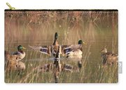 Ducks Of Douglas Carry-all Pouch