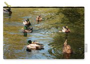 Ducks On The Water Carry-all Pouch