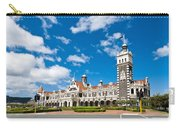 Dunedin Railway Station During A Sunny Day  Carry-all Pouch