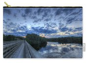 Dusk At The Abol Bridge Carry-all Pouch
