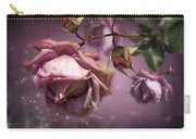 Dusky Pink Roses Carry-all Pouch