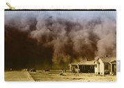 Dust Storm, 1930s Carry-all Pouch by Omikron