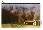 Dust Storm, 1930s Carry-all Pouch
