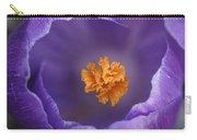 Dutch Crocus Crocus Vernus Flower Carry-all Pouch