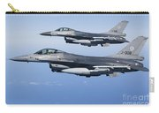 Dutch F-16ams During A Combat Air Carry-all Pouch