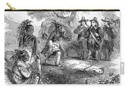 Dutch-native American Fur Trade Carry-all Pouch