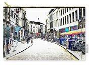 Dutch Shopping Street- Digital Art Carry-all Pouch