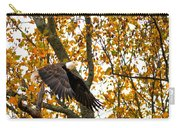 Eagle In Autumn Carry-all Pouch