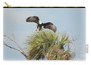 Eagle In The Palm Carry-all Pouch