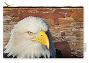 Eagle On Brick Carry-all Pouch