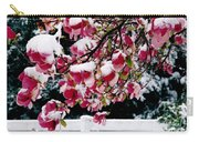 Early Magnolia Late Snow Carry-all Pouch