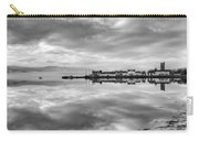 Early Morning At Inverary Black And White Version Carry-all Pouch