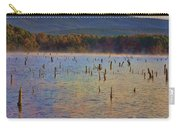 Early Morning Color Of Lake Wilhelmina-arkansas Carry-all Pouch