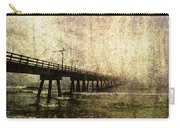 Early Morning Pier Carry-all Pouch by Skip Nall