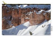Early Morning Snow In Bryce Canyon Carry-all Pouch
