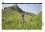 Early Purple Orchids Carry-all Pouch