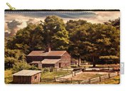 Early Settlers Carry-all Pouch by Lourry Legarde