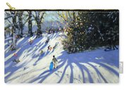 Early Snow Darley Park Carry-all Pouch by Andrew Macara