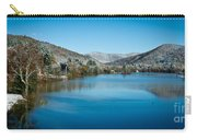 Early Snow In Vermont Carry-all Pouch by Edward Fielding