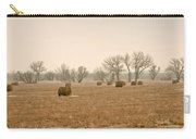 Earlying Morning Hay Bails Carry-all Pouch