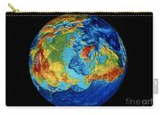 Earth: Topography Carry-all Pouch